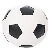 Kaikoo Faux Leather Football - Black / White