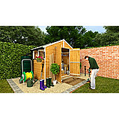 BillyOh 4000M Lincoln Tongue and Groove Double Door Apex Garden Shed