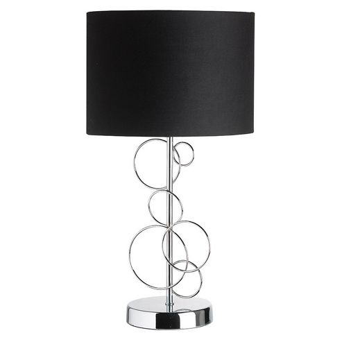Endon Lighting 34.5 cm Table Lamp in Chrome