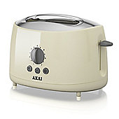 Akai 2 Slice Cool Touch Toaster - Cream