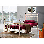 Birlea Atlas Bed Frame - Single - Cream