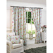 Charlotte Ready Made Lined Curtains - Blue