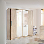 Ideal Furniture Richmond 2 Door Sliding Wardrobe - Oak