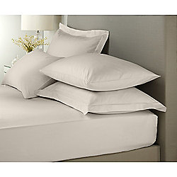 Signature Taupe Pair Of Oxford Pillowcases