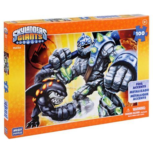 Mega Bloks Skylanders Foil Puzzle 100 Piece