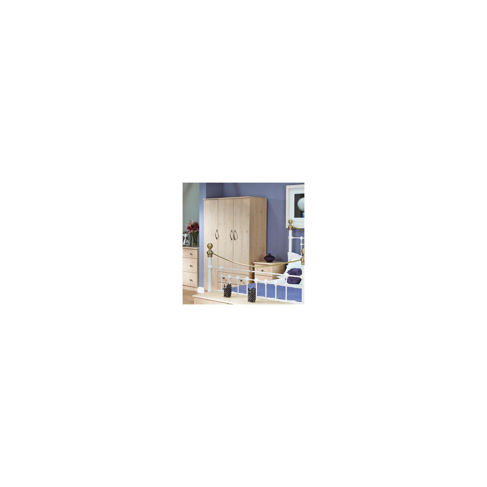 Welcome Furniture Florida 2 Drawer Wardrobe - 182.5cm H x 74cm W at Tesco Direct