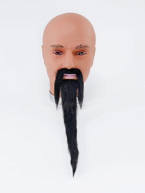 Wizard Beard + Tash. Black