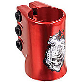Madd Gear Madd Hatter Triple HIC Scooter Clamp - Red