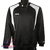Mitre Crosby Junior & Youths Sweaters Sweatshirts Football Drill Tops - Black