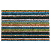 Tesco PVC Backed Coir Mat stripe 40 x 60