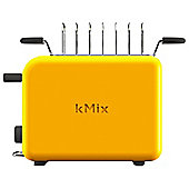 Kenwood Kmix Yellow Toaster