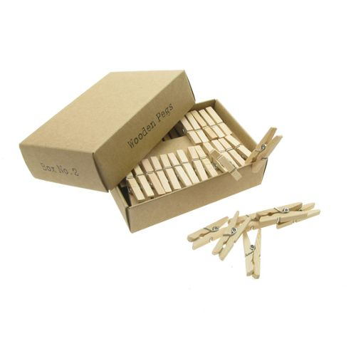 Box No.2 - Wooden Pegs