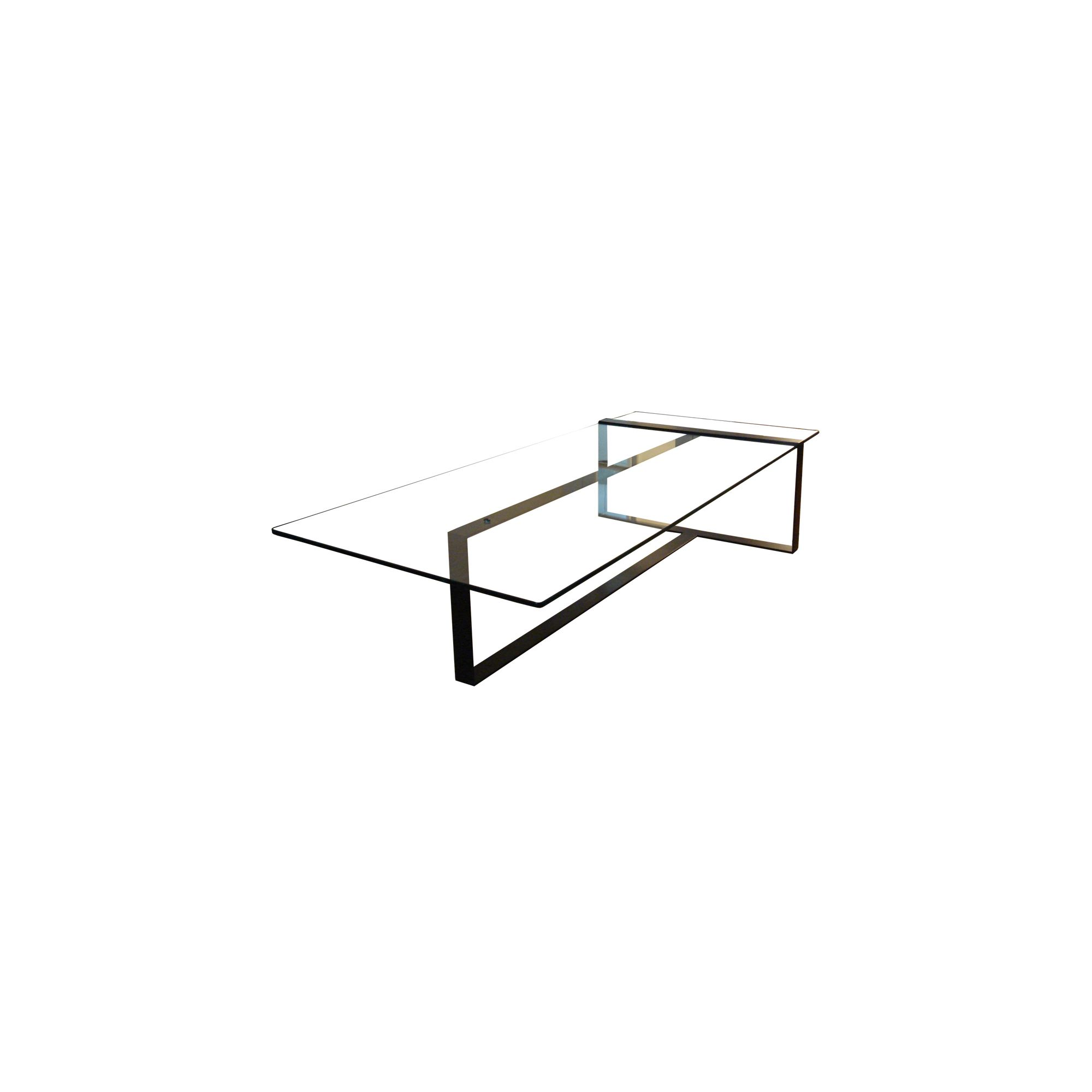 Alex de Rouvray Severin Glass Top Coffee Table at Tesco Direct