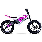 Caretero Enduro Wooden Balance Bike (White/Purple)