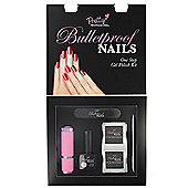 Pretty Professional Bulletproof Nails One Step Gel Polish Starter Kit-Naked