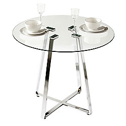Premier Housewares Metropolitan Round Dining Table