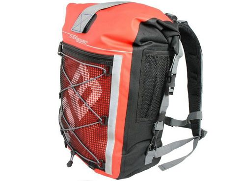 OverBoard 30 Litre Waterproof Pro Sports Backpack Red
