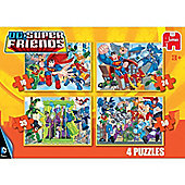 Superfriends 4 in 1 Puzzle