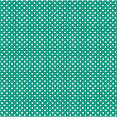 Tropical Teal Dot Beverage Napkins