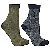 Trespass Boys Dipping 2 Pack Sock - Multi