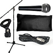 Tiger Microphone and Stand Set with Cable Package