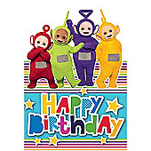 Teletubbies Happy Birthday Card