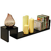 Sunrise - Wall Storage / Display Shelf - Black