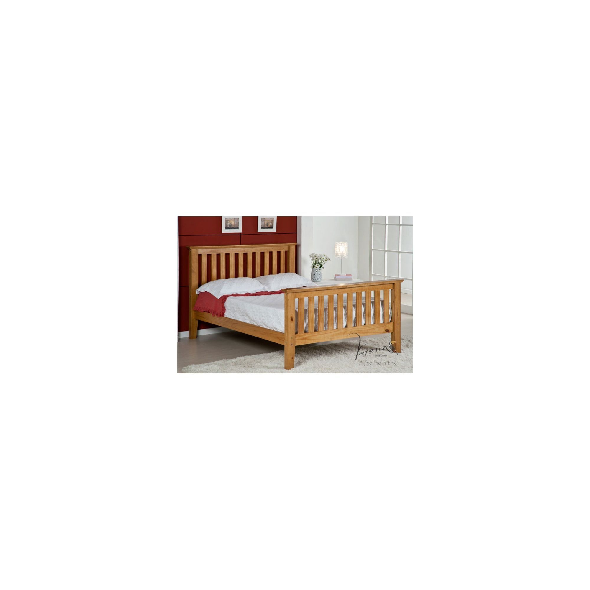Verona San Marino Double Bed - King at Tesco Direct