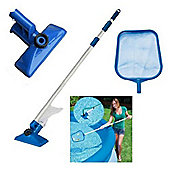 MySplash - Pool Maintenance Kit with Telescoping Aluminium Pole