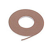 Exitex Saf Self Adhesive Foam Brown 5M
