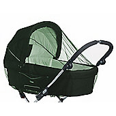 Babydan Mosquito Net For Pram & Carry Cot Green