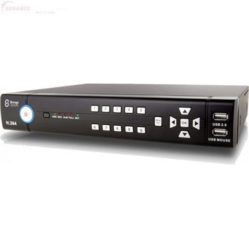 Storage Options 500GB CCTV Digital Video Recorder 8 Channel