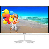 Philips 23 LCD Monitor with SmartImage Lite 234E5QHAW Ultra Narrow Bezel 23 / 58.4cm MHL