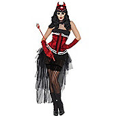 Adult Diva Demonique Costume Small