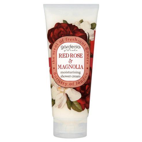 Gardenia of London Red Rose & Magnolia Moisturising Shower Cream