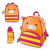 Skip Hop Zoo Backpack & Lunch Bag & Drinks Bottle - Cat