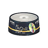 TDK 8.5 GB 8x Dual Layer 25 Pack DVD+R