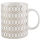 Tesco Platinum Swirl  Print Mug