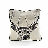Stag Tapestry Cushion Cover