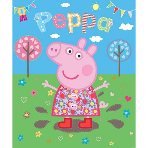 Peppa Pig Wallpaper Mural 6ft x 8ft