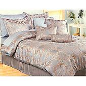 Carrington Linen Comforter - Duck egg blue