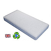PreciousLittleOne Non Allergic Eco Fibre Quilted Cot Mattress (120x60)