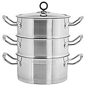 Morphy Richards 3 Tier Steamer in Stainless Steel