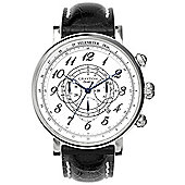 Grayton S-Line Mens Leather Chronograph Date Watch GR-0014-002.2