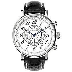 Grayton S-Line Mens Leather Chronograph Date Watch GR-0014-002.2