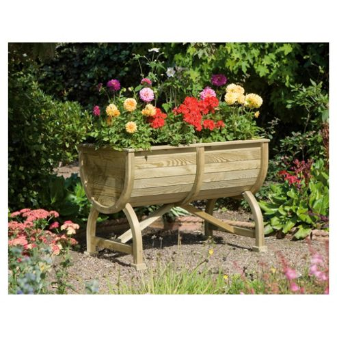 buy rowlinson marberry barrel planter from our planters. Black Bedroom Furniture Sets. Home Design Ideas