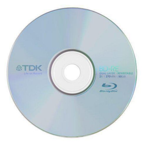 TDK DVD-RW CakeboX 8cm 4,7GB 10 pack