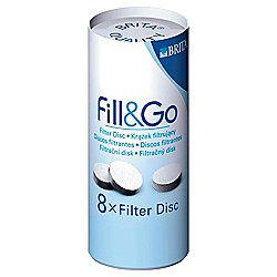 BRITA Fill&Go Water Filter Cartridges, 8-Pack