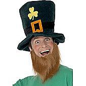 Adult Leprechaun Hat And Beard