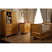 Obaby Lincoln Sleigh 3 Piece Furniture Set - Country Pine